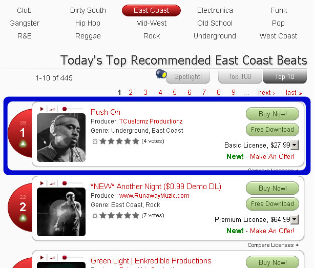 #1-east-coast-beat-brokerz-charts