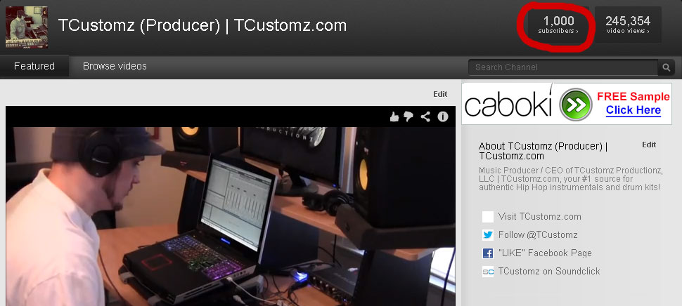 1000-tcustomz-youtube-subscribers