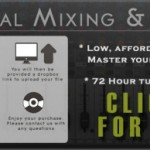 Professional Audio Mixing & Mastering Services NOW AVAILABLE!